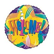 18&quot; &#039;Welcome&#039; Foil Balloon  (pack of 10)