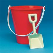7&quot; Poly Pails  (pack of 12)