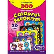 Colorful Favorites Stinky Stickers (pack of 300)