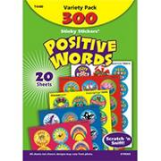 Positive Words Stinky Stickers (pack of 300)
