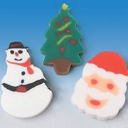 Mini Christmas Erasers (pack of 144)