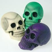 Rubber Halloween Skull