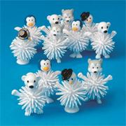 Winter Wooly Characters (pack of 12)