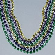 33&quot; Mardi Gras Beads (pack of 36)