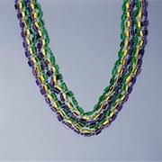 48&quot; Deluxe Mardi Gras Beads (pack of 12)