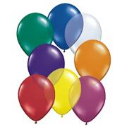 11&quot; Qualatex Balloons  Jeweltone Assortment (bag of 100)