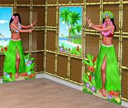 Hula Dancer Cutouts  (pack of 2)