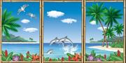 Tropical Window Views  (pack of 3)