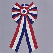 Jumbo Patriotic Bow  (pack of 3)