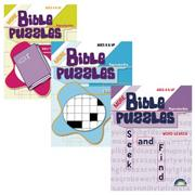 Bible Puzzle Books (set of 3)