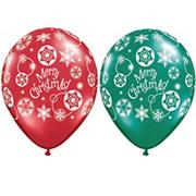 Merry Christmas Latex Balloons (pack of 50)