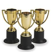 "4"" Gold Trophy (pack of 12)"