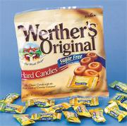 Werther&#039;s Original Sugar Free Hard Candy (bag of 25)