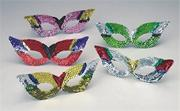 Sequin Party Masks  (pack of 12)