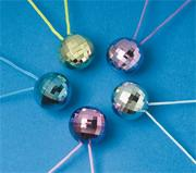 Disco Ball Necklace  (pack of 12)