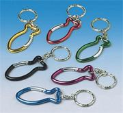 Metal Fish Key Chains  (pack of 12)
