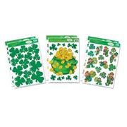 St. Pat&#039;s Static Clings  (pack of 6)