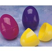 2-1/2 &quot; Split Plastic Eggs  (pack of 144)