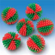 Christmas Wooly Balls  (pack of 12)