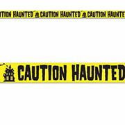 Haunted Party Tape (pack of 12)