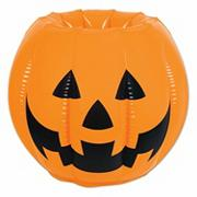 Inflatable Jack O Lantern Cooler