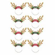 Santa&#039;s Reindeer Pack (pack of 8)