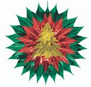 Christmas Fan-Burst (pack of 2)