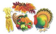 Thanksgiving Cutouts  (box of 24)