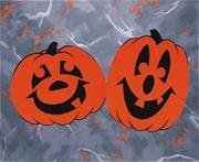 Jack-O-Lanterns Cut-Outs  (pack of 24)