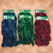 3-Ply Bulk Garland 50&#039;x2&quot; - Assorted  (pack of 6)