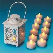 Faux Tea Lights (pack of 12)