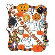 Flame-Resistant Halloween Decorating Kit (kit of 24)