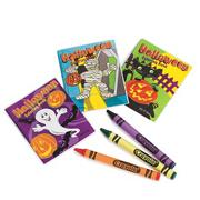 Halloween Coloring Books  (pack of 144)