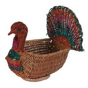 10&quot; Thanksgiving Turkey Basket