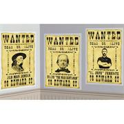 Wanted Poster Scene Setter Add-Ons  (pack of 3)