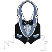 Tuxedo Vests (pack of 3)