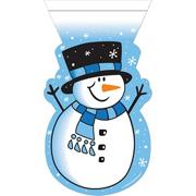 Snowman Cello Bag  (pack of 12)