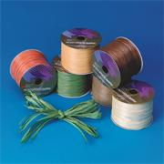 Assorted Earthtone Raffia Ribbon 30 ft. (pack of 6)