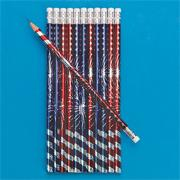 Patriotic Burst Pencils (pack of 144)