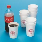 Lucky Bingo Cup (pack of 12)