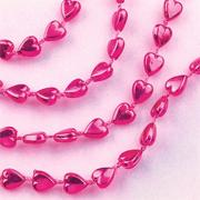 Heart Party Beads, 33&quot; (pack of 36)