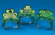 St. Pat's Tiaras  (box of 50)