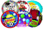 Mystery Mylar Balloon Pack. (pack of 12)