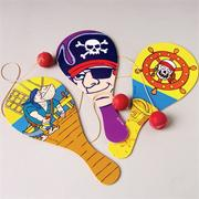 Pirate Paddle Balls  (pack of 12)
