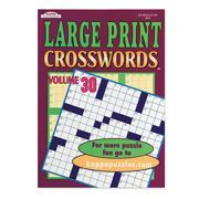 Large Print Word-Finds and Crosswords (pack of 12)