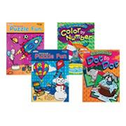 Children Puzzle and Games Activity Books (pack of 12)