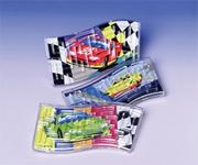 Race Wave Puzzles  (pack of 12)