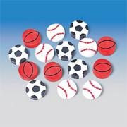 Sports Ball Erasers (pack of 144)