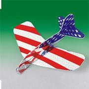 US Flag Glider Planes  (pack of 12)