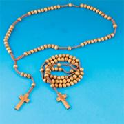 Wooden Rosary Beads (pack of 12)
